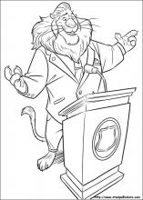 Mayor Goodway Coloring Pages