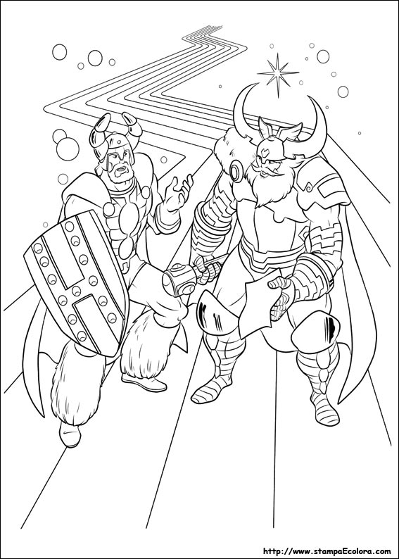 disegni de thor